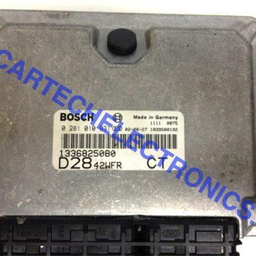 Fiat Engine ECU, 0281010931, 0 281 010 931, 1336825080, CT