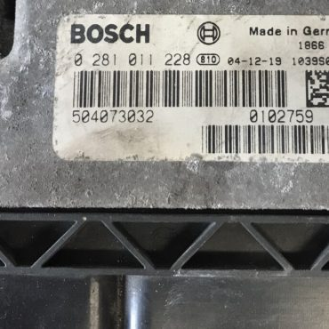 Iveco Daily 2.3, 0281011228, 0 281 011 228, 504073032, 2.3L