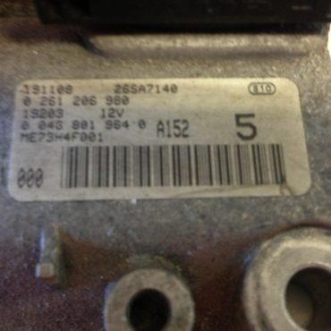 Fiat Punto 1.2i 16V, 0261207901, 0 261 207 901, 55180311, 5