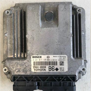 Toyota Bosch Engine ECU, 0 281 017 135, 0281017135, 89661-0DG50, 1039S39971, B6