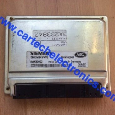 Land Rover Freelander, DME MS43/KV6, 5WK90003, NNN105961