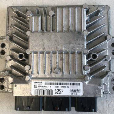Siemens Engine ECU, Ford Galaxy 2.0 TDCi, SID206, 5WS40402J-T, 6G91-12A650-EJ, 4GCJ