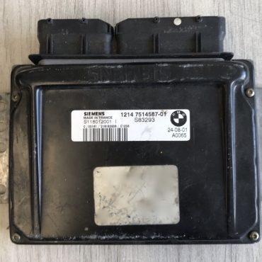 MINI Engine ECU, 12147514587-01, 1214 7514487-01, S118012001 I, S83293