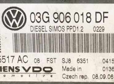 5WP45517AC, 5WP45517 AC, 03G906018DF, 03G 906 018 DF, PPD1.2