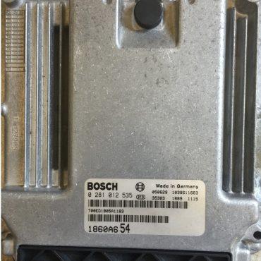 Dodge Caliber 2.0 TDI, 0 281 012 129, 0281012129, P05033299AE, 1039S12875