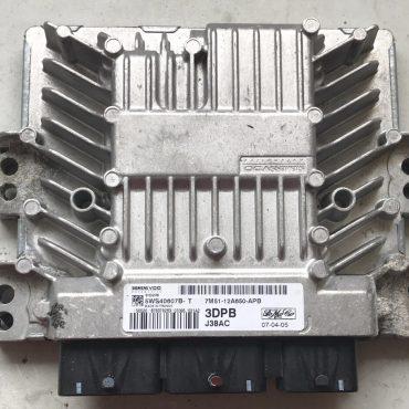 Ford Focus, 5WS40607B-T, 7M51-12A650-APB, 3DPB, SID206, J38AC