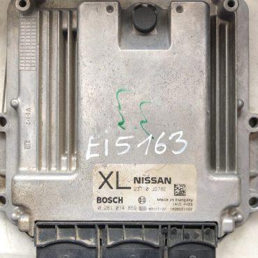 Nissan Qashqai 2.0 dCI, 0281014859, 0 281 014 859, 23710-JD78E, 23710JD78E