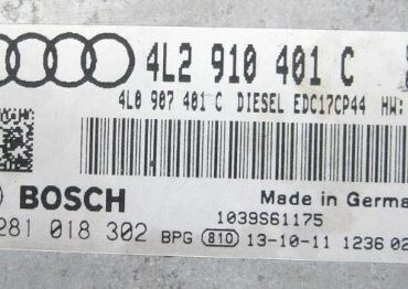 Audi Q7 3.0 TDI, 0281018302, 0 281 018 302, 4L2910401C, 4L2 910 401 C, EDC17CP44