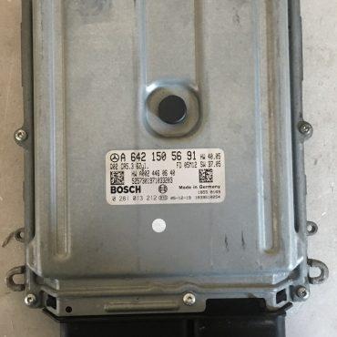 Bosch Engine ECU, Mercedes-Benz, 0281013212, 0 281 013 212, A6421505691, A 642 150 56 91, CR5.3