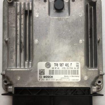 VW Touareg 3.0 TDI, 0281017733, 0 281 017 733, 7P0907401F, 7P0 907 401 F, 1039S51601, EDC17CP44