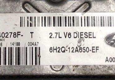 Land Rover 2.7D V6, 5WS40278F-T, 6H2Q-12A650-EF, NNN500750, SID204
