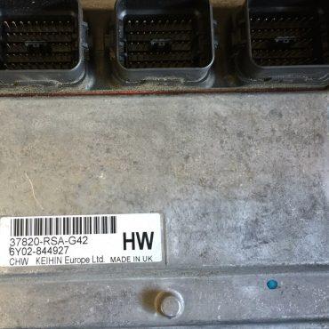 Honda Civic 1.8L, Engine ECU, 37820-RSA-G42, HW, Keihin UK