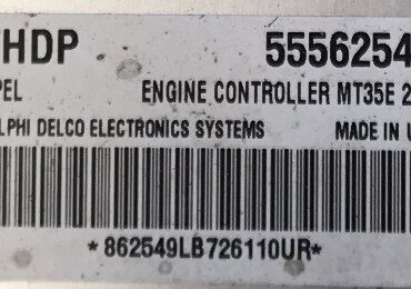 Zafira Engine ECU, 55562549, FHDP, MT35E 2.3