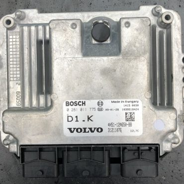 Bosch Engine ECU, Volvo C30, 0281011775, 0 281 011 775, 4N51-12A650-BB, D1.K