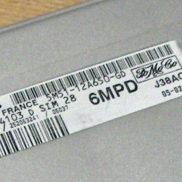 S118934103 D, 5M51-12A650-GD, 6MPD, SIM28
