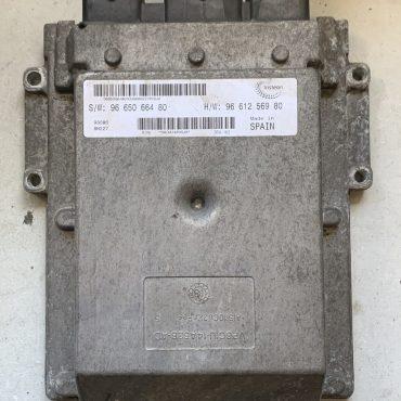 Fiat Ducato 2.2, SW9665066480, S/W 96 650 664 80, HW9661256980, H/W 96 612 569 80 ,DCU-102