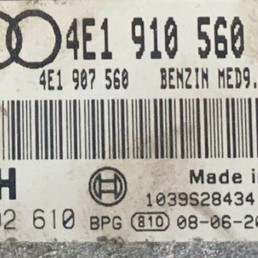 0261S02610, 0 261 S02 610, 4E1910560J, 4E1 910 560 J, MED9.1.1