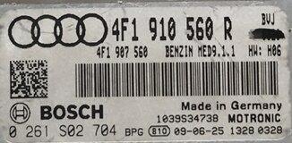 Audi A6 4.2, 0261S02704, 0 261 S02 704, 4F1910560R, 4F1 910 560 R, MED9.1.1