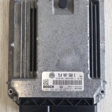 Bosch Engine ECU, Audi Touareg 4.2, 0261S02457, 0 261 S02 457, 7L0907560E , 7L0 907 560 E , 1039S23917, MED9.1.1