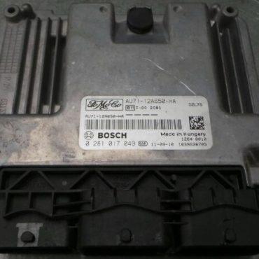 Ford EcoSport 1.5 TDCi, Fiesta 1.4/1.5/1.6 TDCi, 0281017049, 0 281 017 049, AU71-12A650-HA