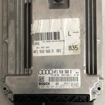 Audi A6 4.2, 0261S02497, 0 261 S02 497, 4F1910560D , 4F1 910 560 D , MED9.1.1