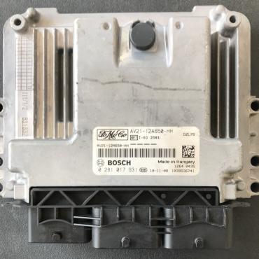 Bosch Engine ECU, Ford Fiesta 1.6, 0281017931, 0 281 017 931, AV21-12A650-HH, 1039S36741