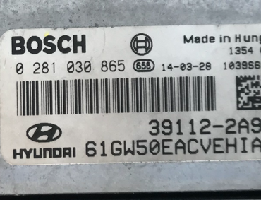 Hyundai i30 1.6 CRDi, 0281030865, 0 281 030 865, 39112-2A981, 1039S68323