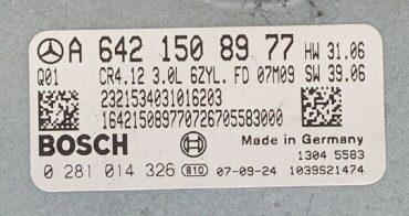 Mercedes-Benz E 300 BlueTec , 0281014326, 0 281 014 326, A6421508977 , A 642 150 89 77