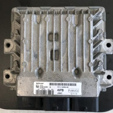 Ford Transit 2.2TDCi Engine ECU, S180145001 B, CC11-12A650-AB, CC1112A650AB, 4VFB, SID208, FOMOCO