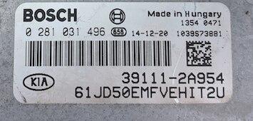 Kia-Hyundai, 0281031496, 0 281 031 496, 39111-2A954