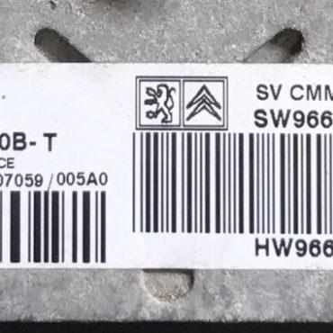 5WS40610B-T, SW9664626580, HW9661642180, SID803A