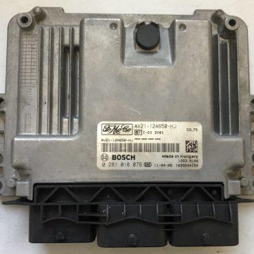 Bosch Engine ECU, 0281018079, 0 281 018 079, AV21-12A650-HJ, 1039S44120