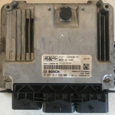 Bosch Engine ECU, 0281017930, 0 281 017 930, AV21-12A650-RE