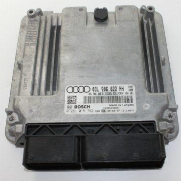 Bosch Engine ECU, Audi Q5 2.0 TDI, 0281015752, 0 281 015 752, 03L906022NH, 03L 906 022 NH, EDC17CP14