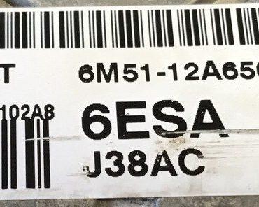 FoMoCo, 5WS40602A-T, SID803A, 6M51-12A650-AHA, 6ESA, J38AC
