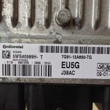 Ford S-max 1.8TDCi, SID 206, 5WS40589H-T, EU5G, 7G91-12650-TG