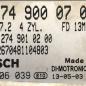Mercedes-Benz C180, GLK 250, 0261S06039, 0 261 S06 039, A2749000700, A 274 900 07 00, 1039S53173