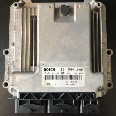 Bosch Engine ECU, Renault Master 2.3, 0281017977, 0 281 017 977, 237101487R, 1039S46774