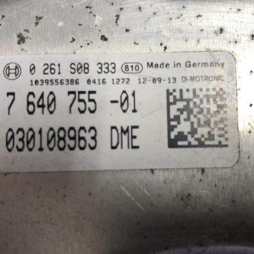 BMW F20 116i , 0261S08333, 0 261 S08 333, DME7640755, DME 7 640 755
