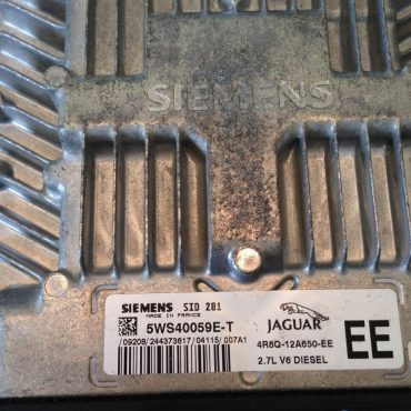Jaguar, 5WS40059E-T, 4R8Q-12A650-EE, SID 201