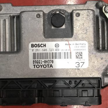 Toyota Aygo 1.0, 0261S08723, 0 261 S08 723, 89661-0H370