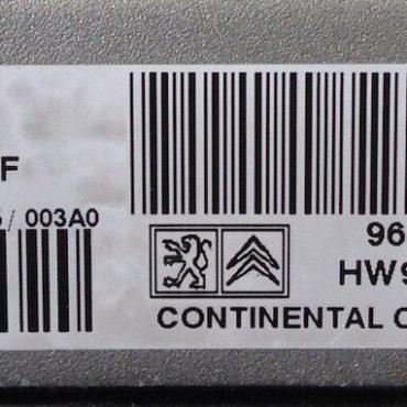 Peugeot/Citroen, S180075002F, 9667155780, HW9666571380, SID 807