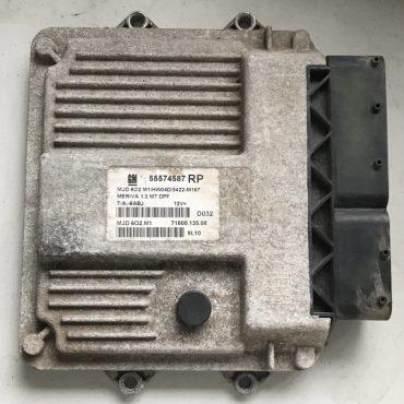 Vauxhall/Opel Meriva 1.3 JTD, MJD 6O2.M1, 55574587, RP, 71600.135.08