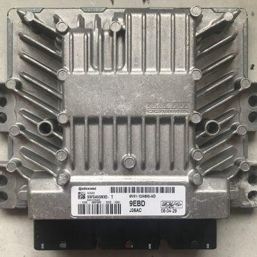 Siemens Engine ECU, Ford Kuga, SID 206, 5WS40583E-T, 8V41-12A650-AD, 9EBD