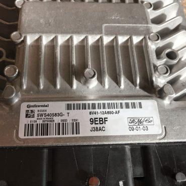 Ford TDCI, SID206, 5WS40583G-T, 8V41-12A650-AF, 9EBF