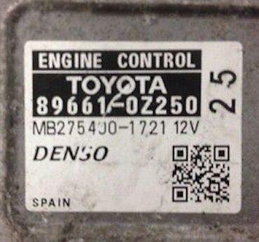 TOYOTA, 89661-0Z250, MB275400-1721, 12V