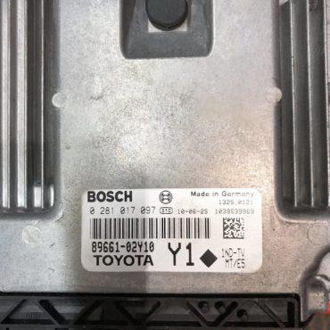 Toyota Auris 1.4 D-4D, 0281017097, 0 281 017 097, 89661-02Y10, Y1