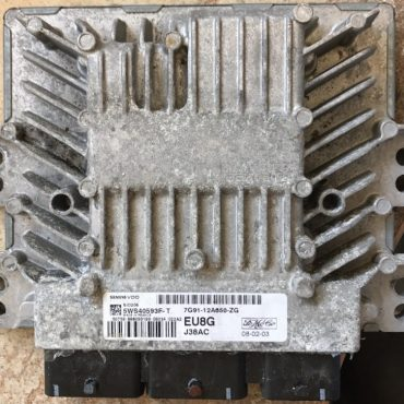 Ford, SID206, 5WS40593F-T, 7G91-12A650-ZG, EU8G