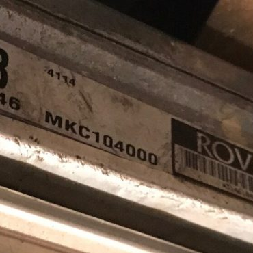 MG MGF VVC, MKC104000, EB