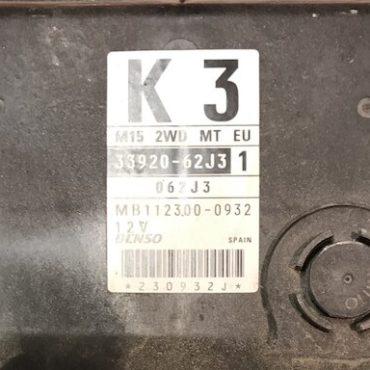 Suzuki, MB112300-0932, 33920-62J3 1, K3